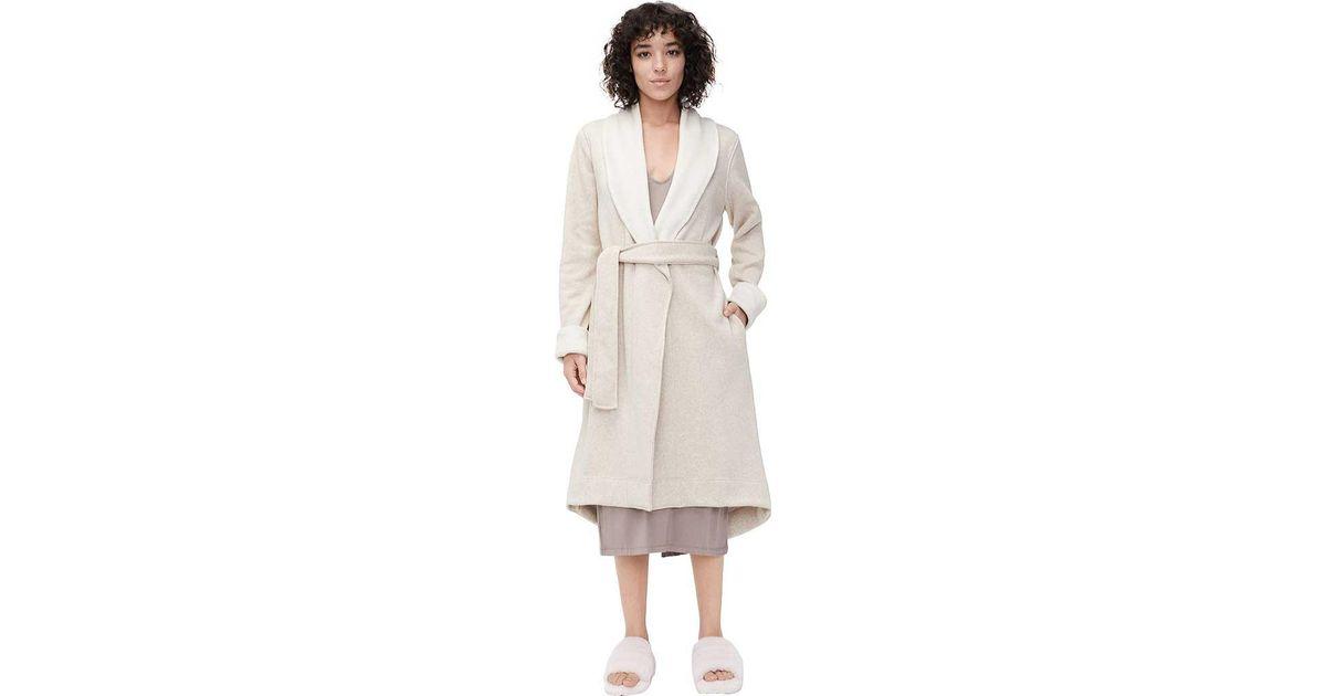 Lyst - UGG Duffield Ii Robe in Natural 06de09e88