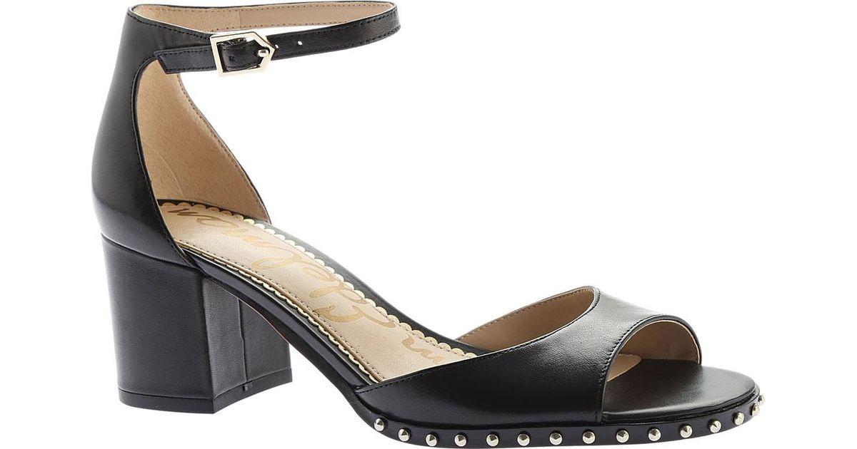 ddba683b6b94ca Lyst - Sam Edelman Susie Ankle Strap Sandal in Black