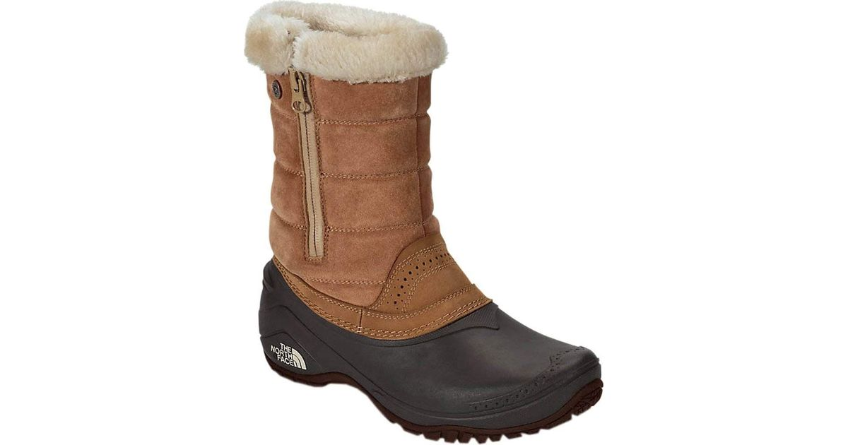 a5cef152b The North Face - Brown Shellista Iii Pull-on Boot - Lyst