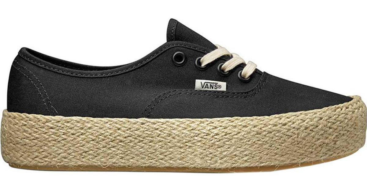 Lyst Vans Authentic Platform Esp Sneaker in schwarz for for for Men 1f7e7c