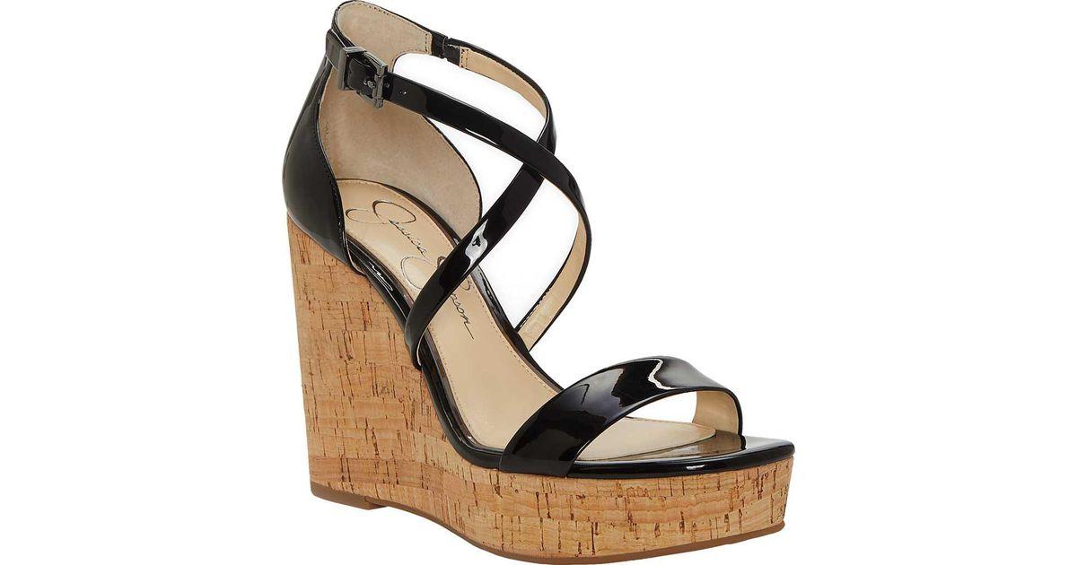 Jessica Simpson Stassi Platform Wedge Sandal (Women's) fR9eV