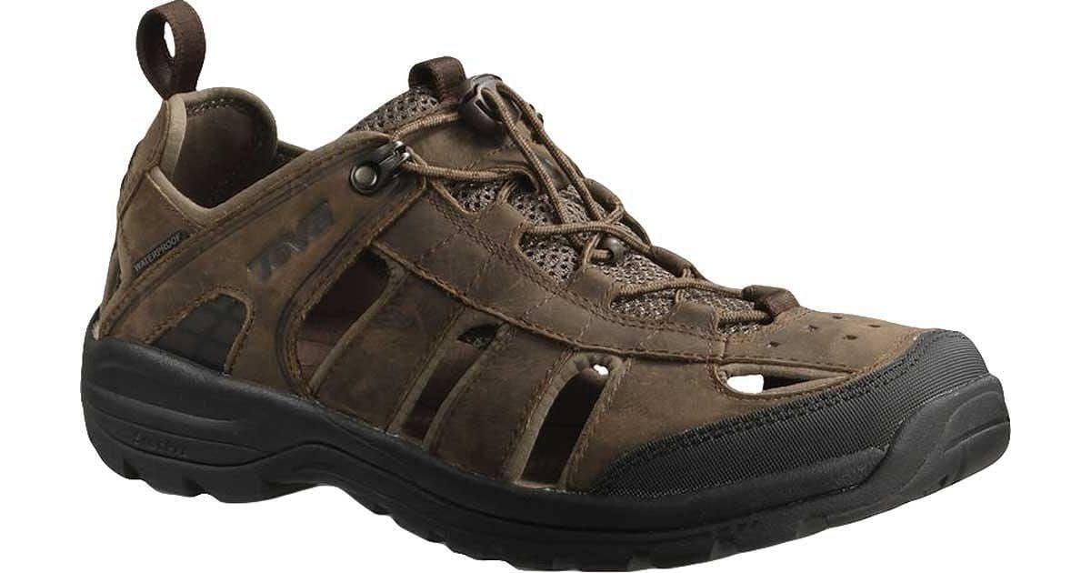 0d25689cf79eb Lyst - Teva Kimtah Sandal Leather for Men