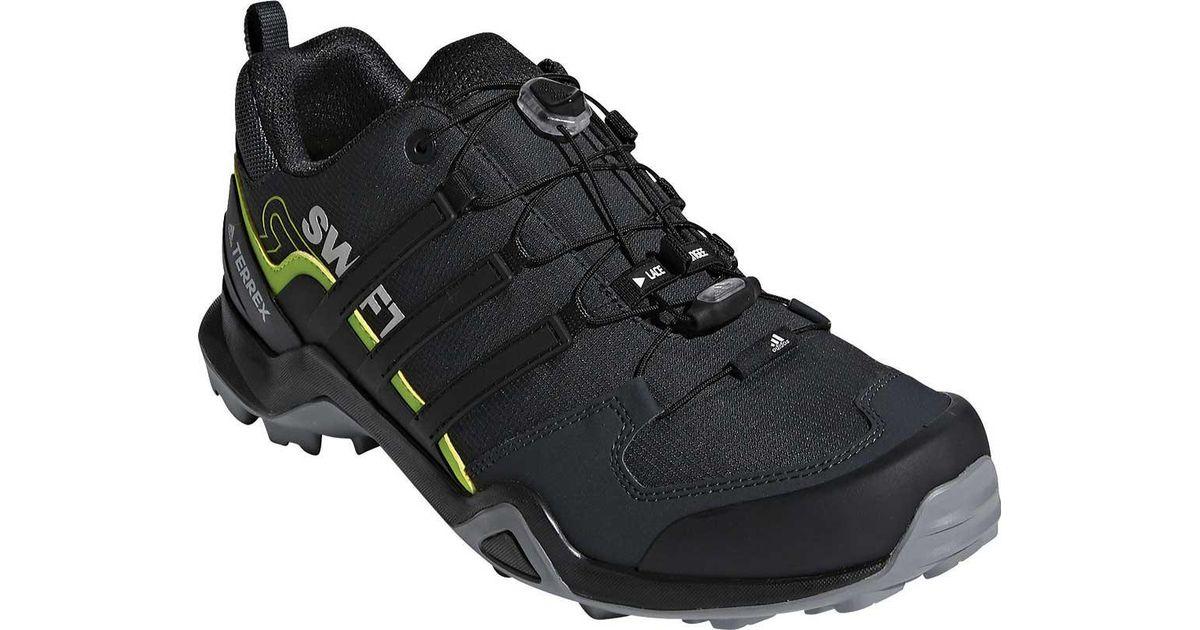 lyst adidas terrex swift r2 scarpa in nero per gli uomini.