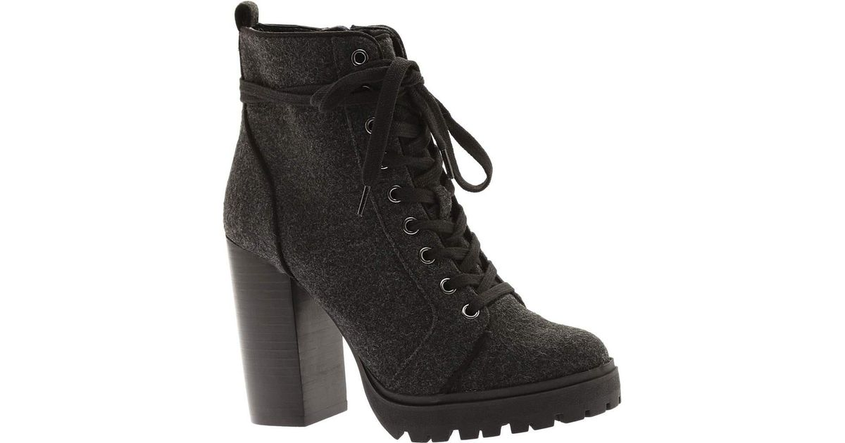 c07a98ffba9 Lyst - Steve Madden Laurie Ankle Boot