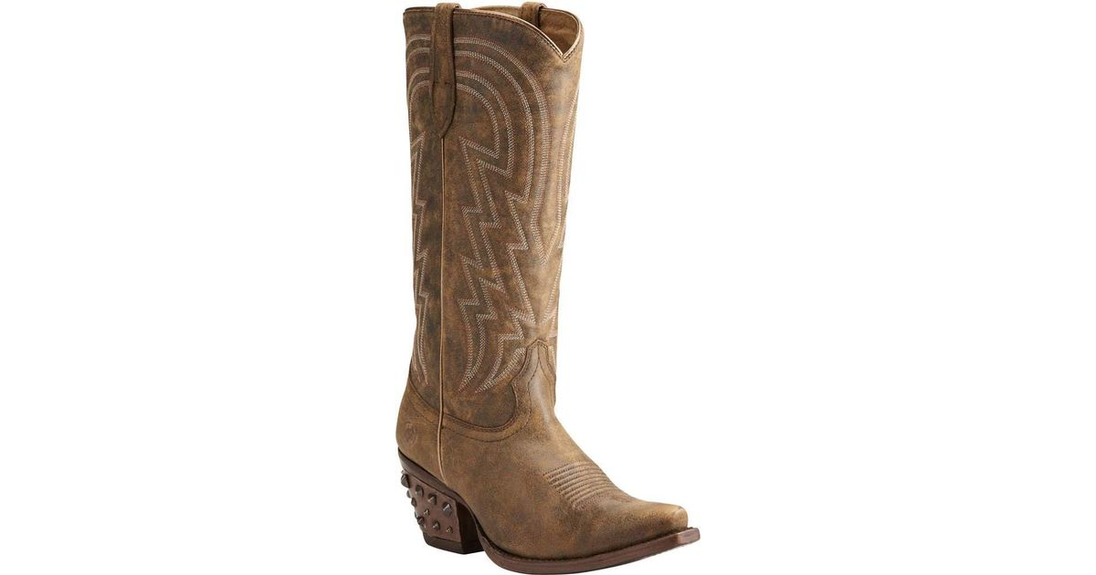 5d9c09f8527 Lyst - Ariat Diamante Knee High Boot