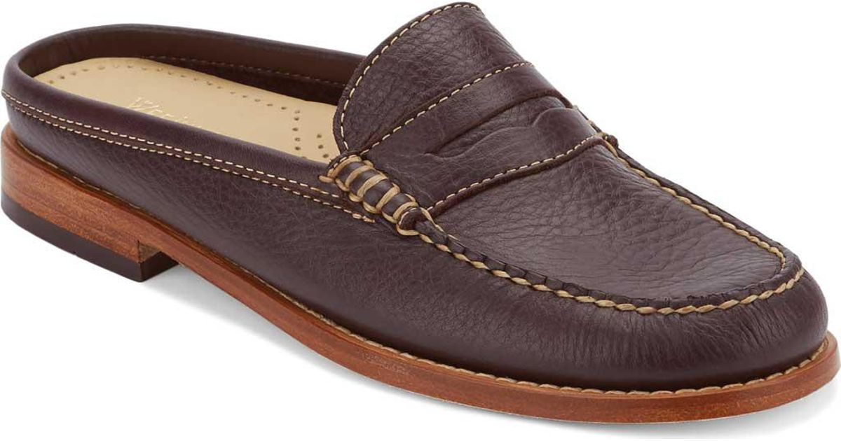 e0cfd51f599 Lyst - G.H. Bass   Co. Wynn Penny Loafer