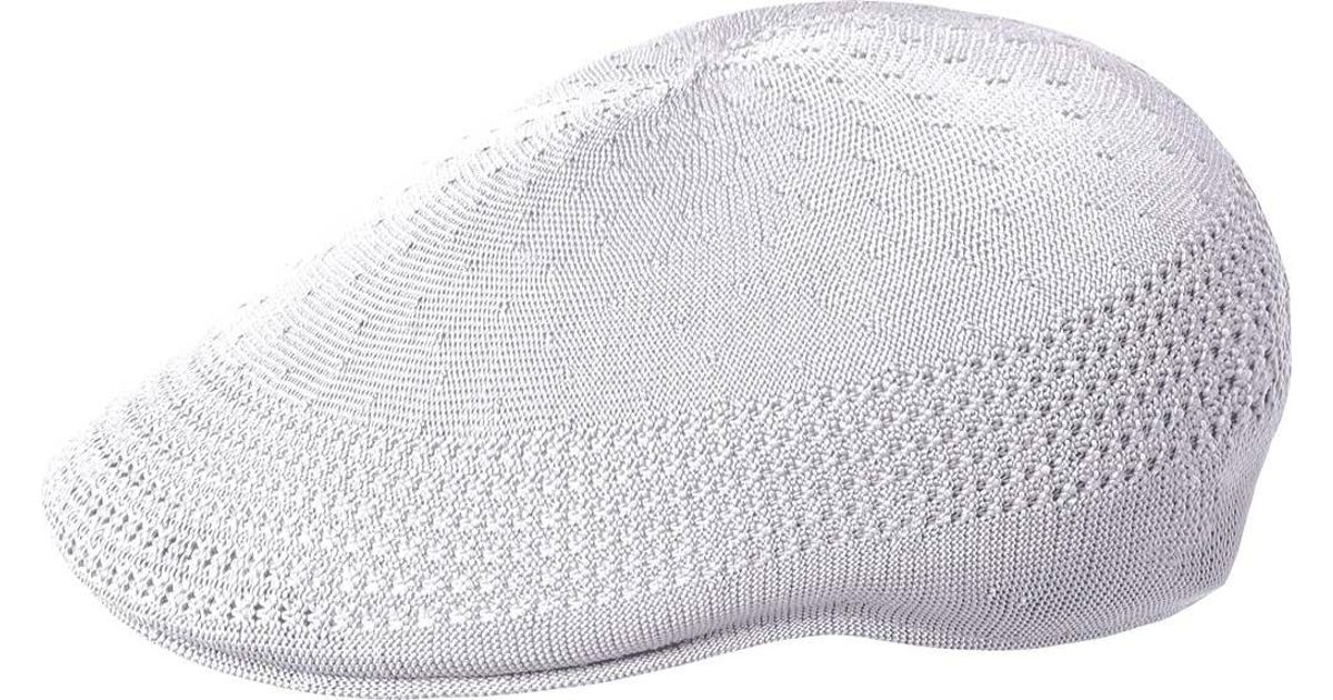 Lyst - Kangol Tropic 507 Ventair Flat Cap in White for Men a80f642499df
