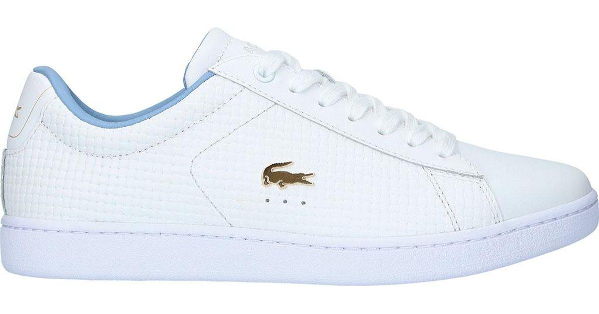 f2c62e134c681d Lyst - Lacoste Carnaby Evo 5 Sneaker in White for Men