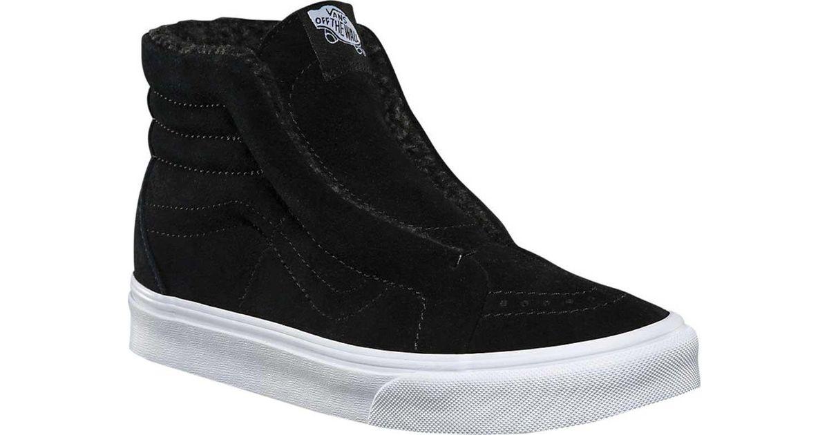 8c1ec891cc Lyst - Vans Sk8-hi Reissue Laceless Hg Sneaker in Black