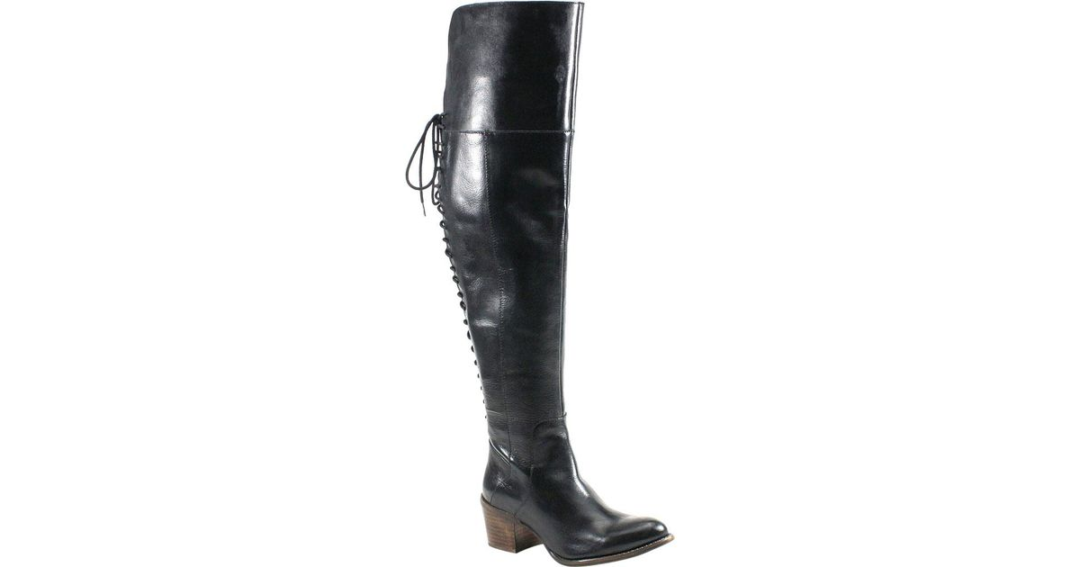 96e5d5432e6e Lyst - Diba True Sunset Sail Riding Boot in Black