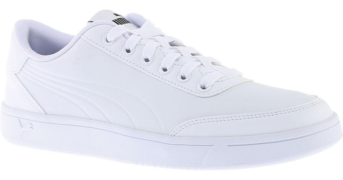Lyst - PUMA Court Breaker L Court Shoe in White for Men c73cc8432