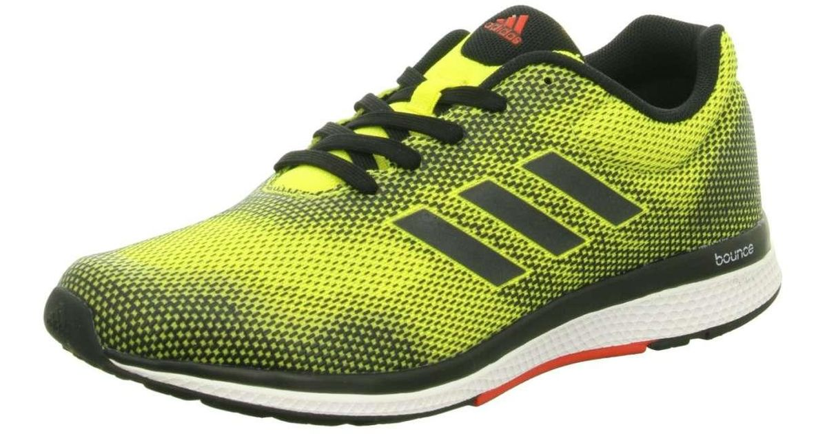 7e4c0f4f5 adidas Trainers Yellow Mana Bounce 2 M Aramis in Yellow for Men - Lyst