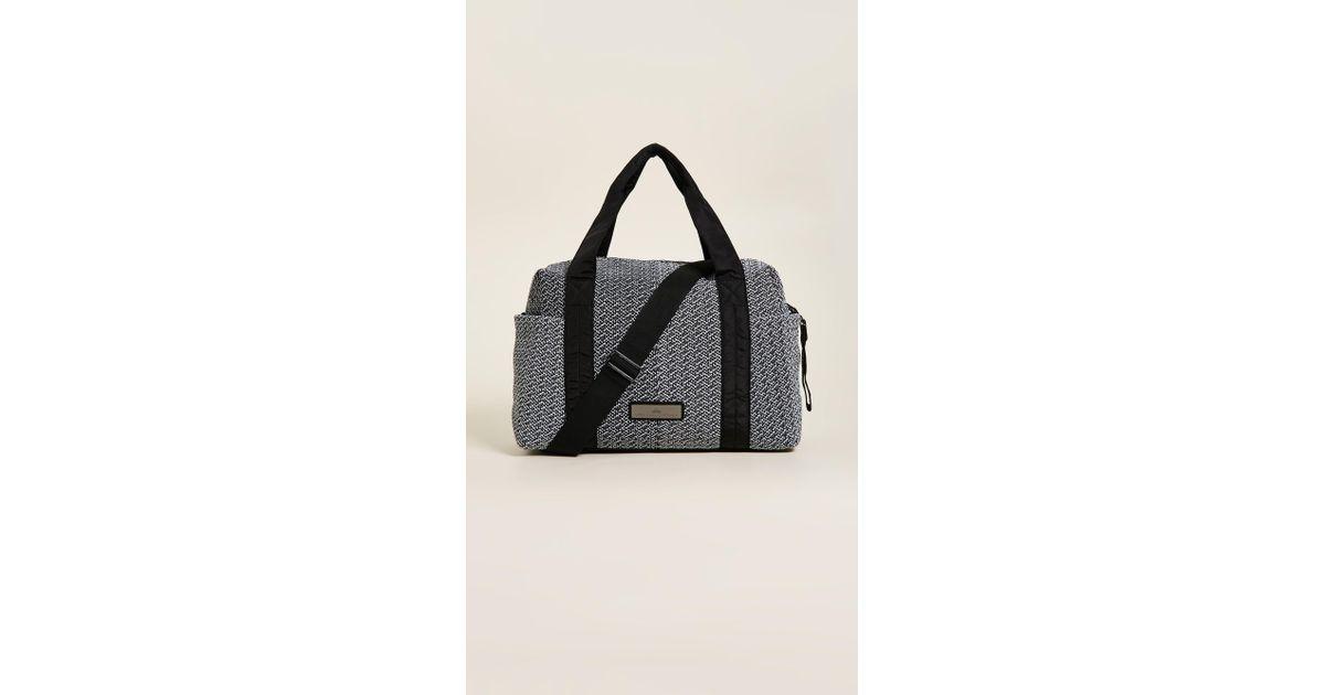 76b35bd1173c Lyst - Adidas By Stella Mccartney Shipshape Athletic Bag in Black