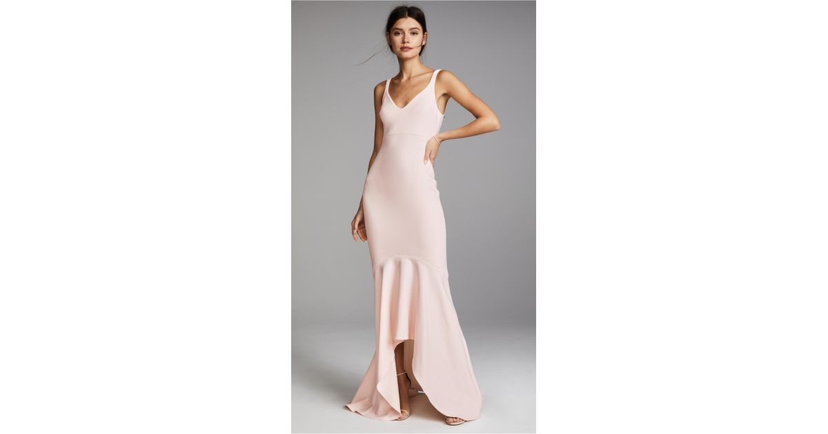 9a98ea99371 Cinq À Sept Sade Gown in Pink - Lyst