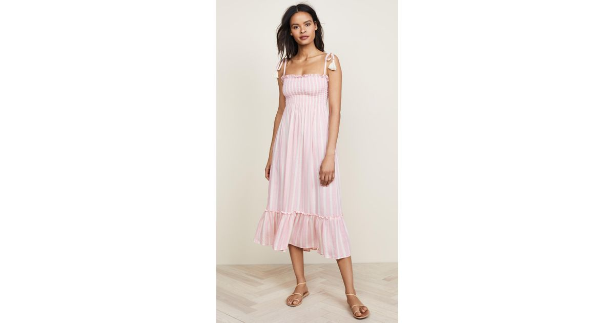 8df0bc7d7f28a Lyst - Cool Change Piper Maxi Dress in Pink