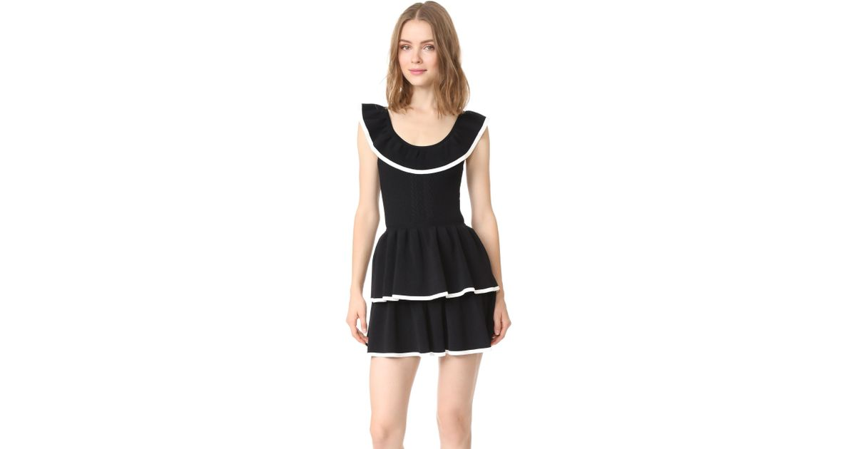Lyst Alice Mccall Kiss It Better Dress In Black