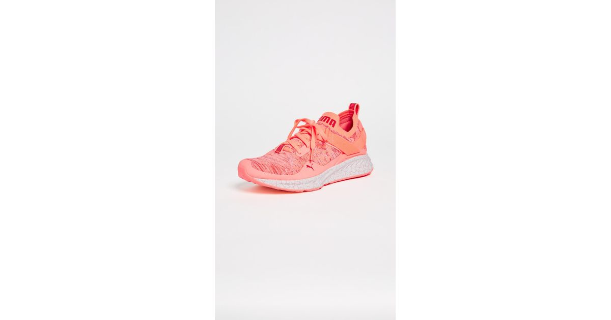 e4cbf0b8266f ... VR W shoes pink Sneakers Discount SO39387002 O8eiX9mK sale usa online  ad539  Lyst - Puma Ignite Evoknit Lo Hypernature Sneakers in Pink really ...