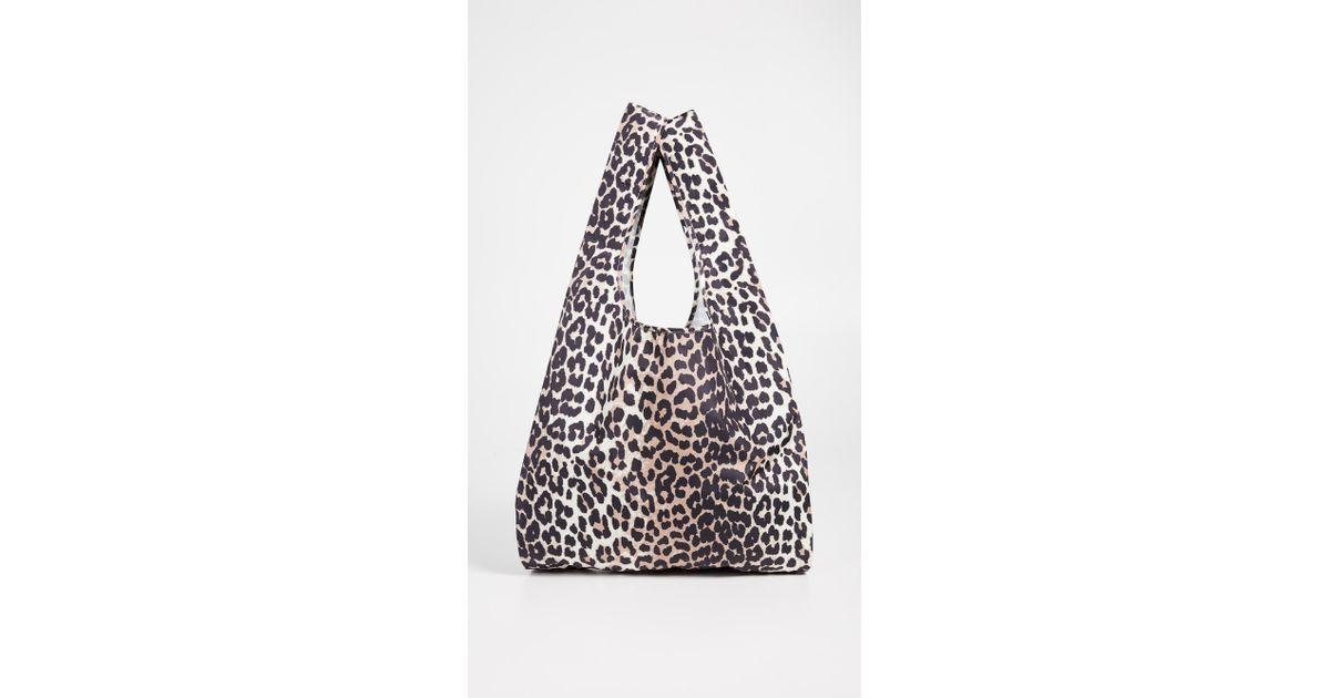 ab7806efb9aa Ganni Tech Fabric Accessories Tote Bag - Save 42% - Lyst