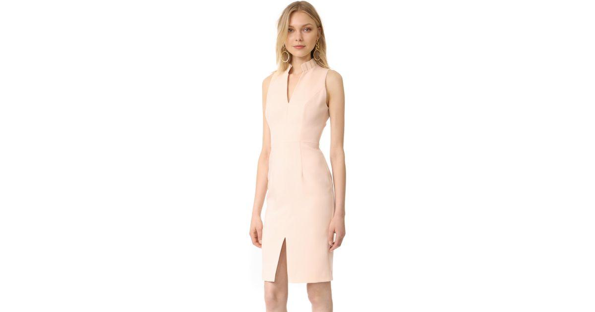 Lyst - Black Halo Antoinette Sheath Dress