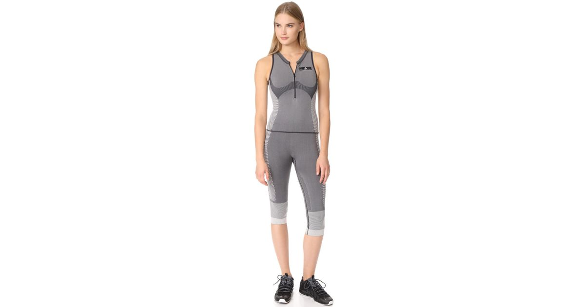 75d4b60d497d Lyst - adidas By Stella McCartney Yoga All In One Jumpsuit in Black
