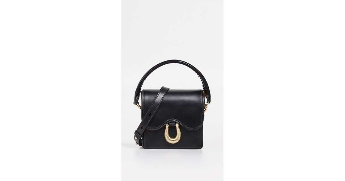 15af8baea Sancia The Arabella Mini Satchel in Black - Lyst
