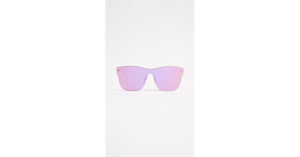 ae6080f6305b Illesteva Newbury Sunglasses in Pink - Lyst