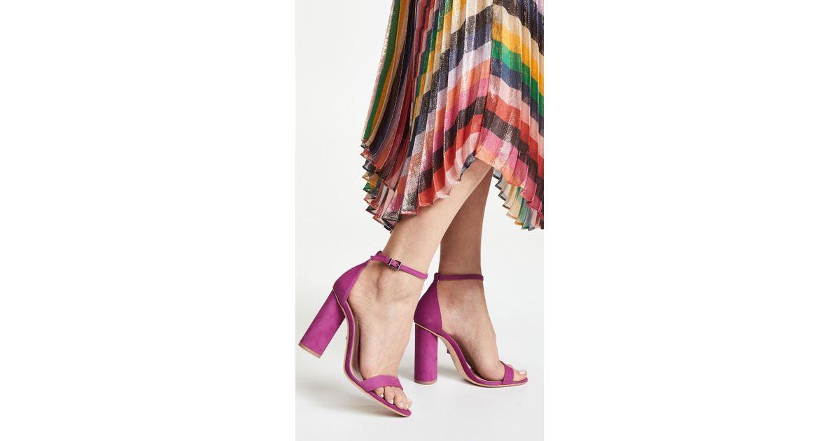 509f79ccf5e Lyst - Schutz Jeannine Block Heel Sandals - Save 25%
