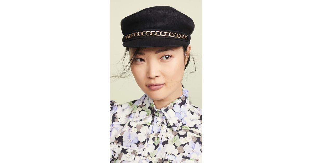 ebd84aa21bb4b Eugenia Kim Marina Hat in Black - Lyst