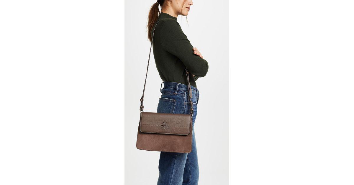 1c83e1a7e2b8 Lyst - Tory Burch Mcgraw Convertible Shoulder Bag