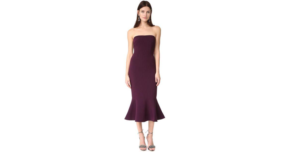 265a0a191a64 Cinq À Sept Luna Dress in Purple - Lyst