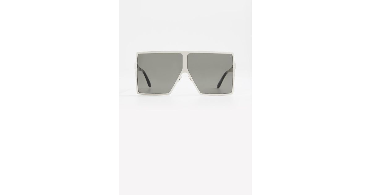 2c7ddaed15 Saint Laurent Sl 182 Metal Betty Sunglasses - Lyst