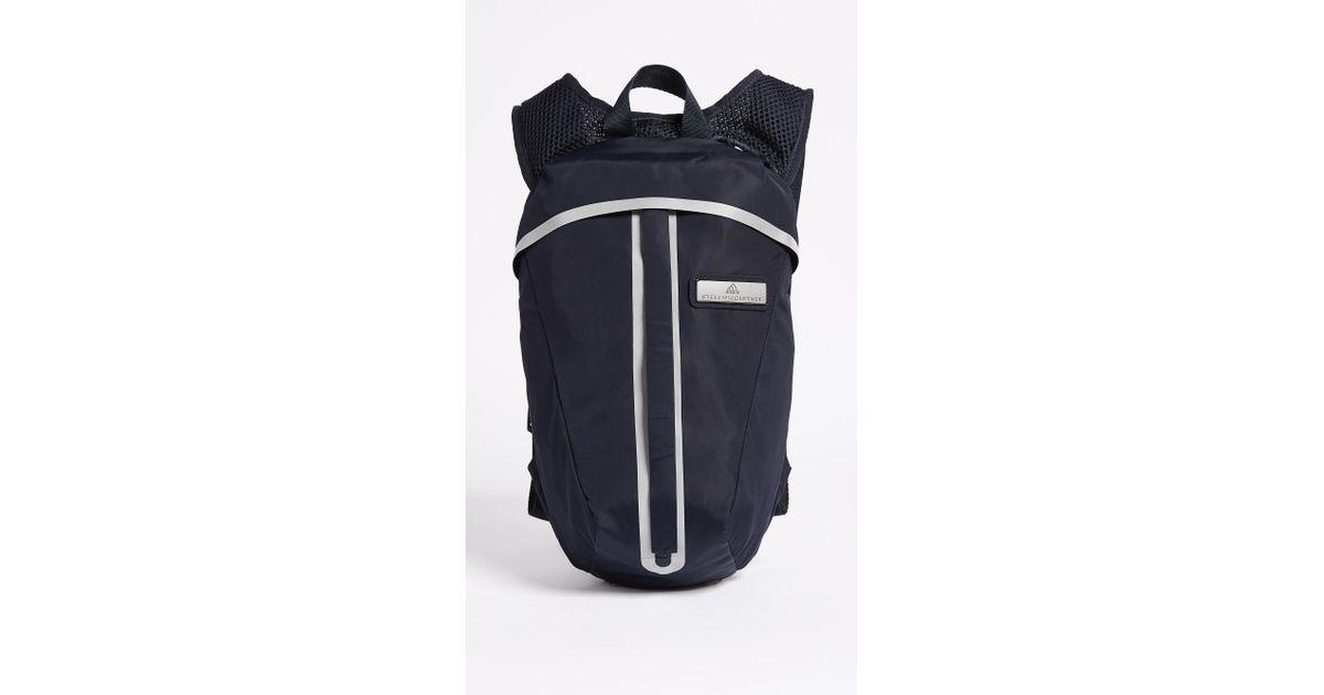 a322562122b Lyst - Adidas By Stella Mccartney Adizero Running Backpack in Blue