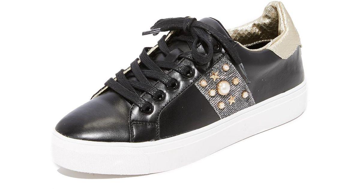 57f5d5b3d08 Lyst - Steven by Steve Madden Cory Classic Sneakers in Black