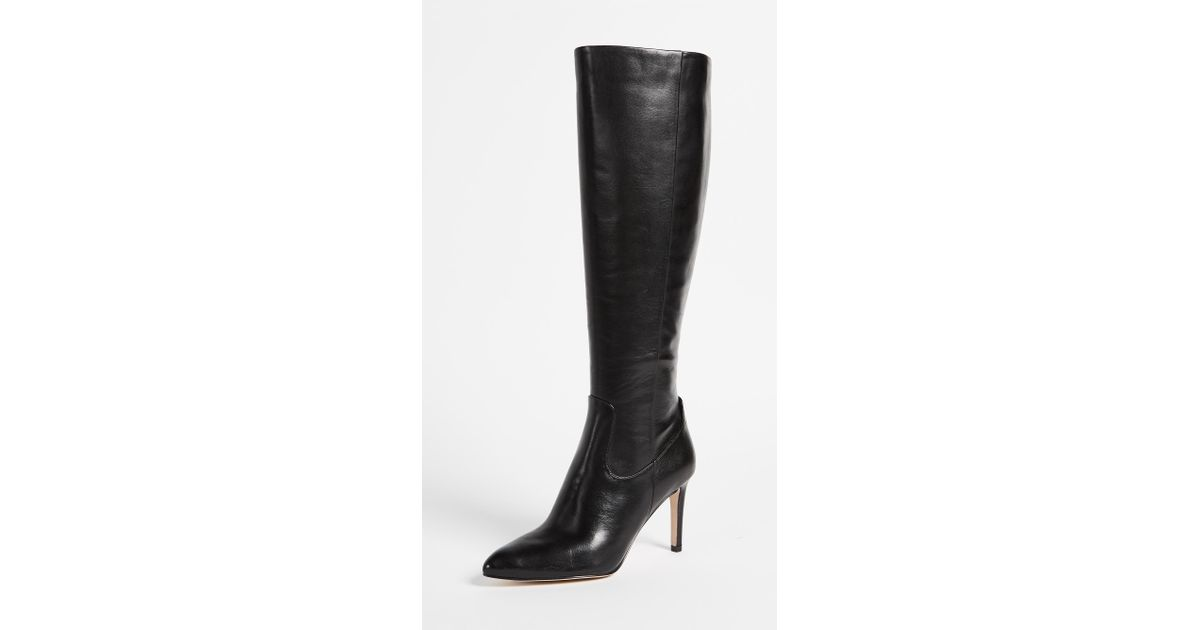 4898de36840 Lyst - Sam Edelman Olencia Tall Boots in Black