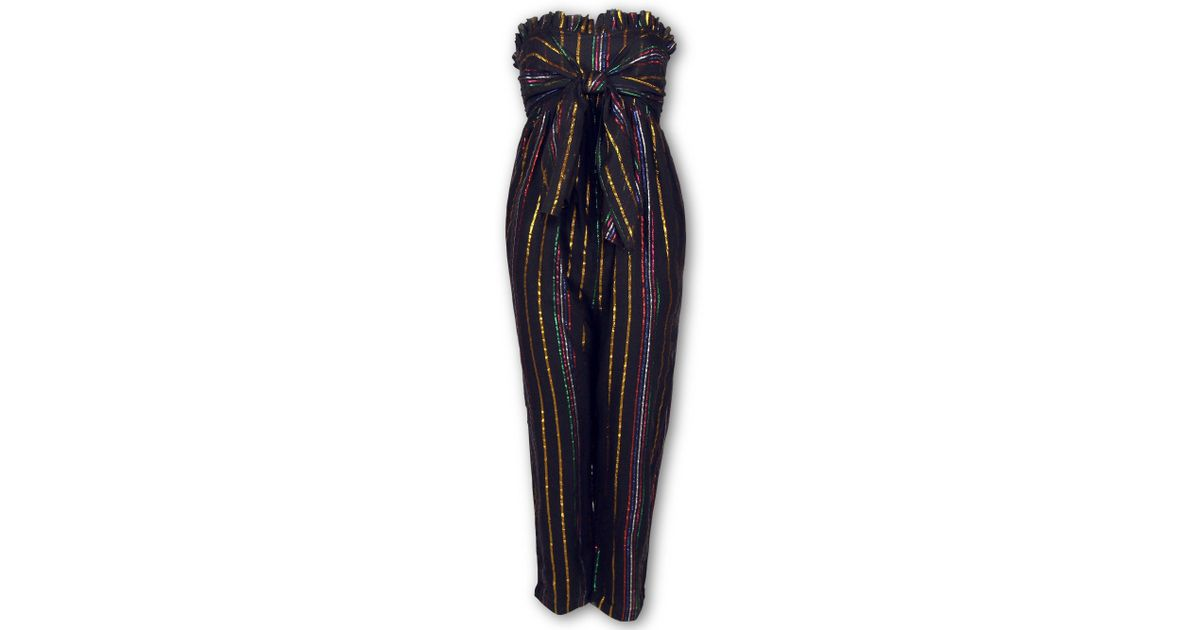 3f3683557b3 Lyst - Apiece Apart Gipsea Sleeveless Jumpsuit in Black