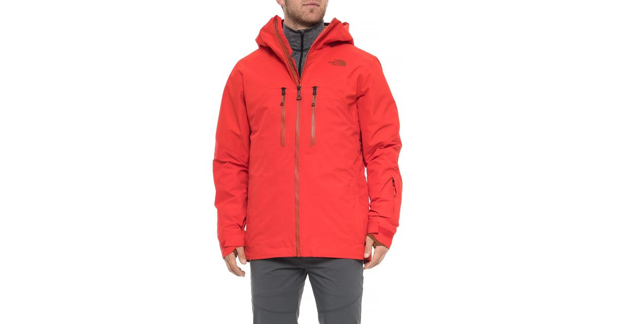 62f21fc5c1fe Lyst - The North Face Powder Guide Gore-tex®jacket in Red for Men