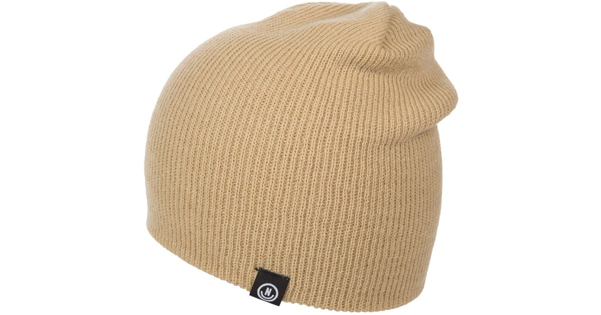 new concept 499d6 10a22 Lyst - Neff Serge Beanie (for Men And Women) in Natural for Men