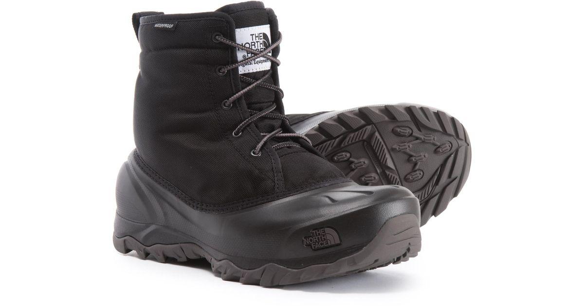 b39db5fe7c6 The North Face Black Tsumoru Snow Boots
