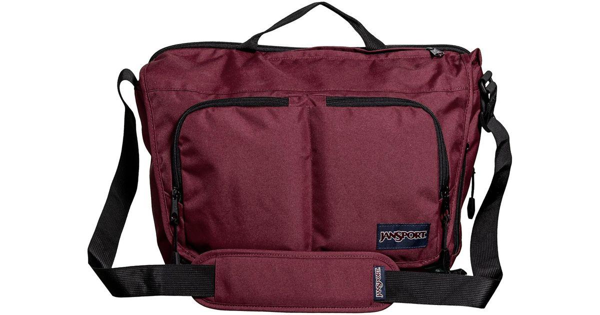 1520746074a7 Lyst - Jansport Network Messenger Bag in Purple for Men