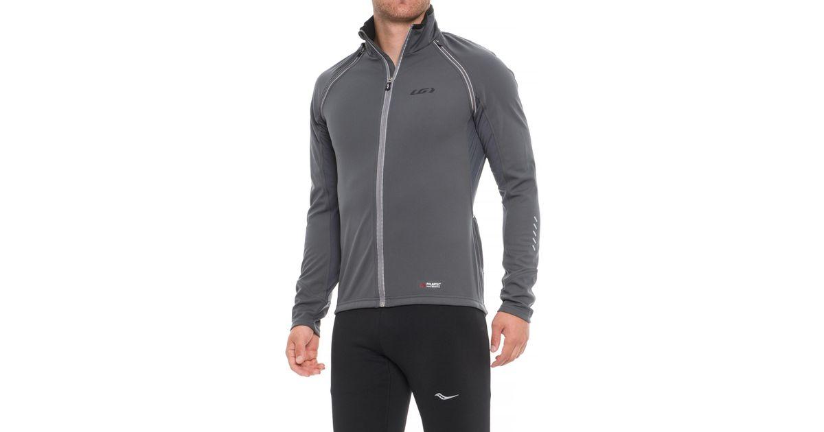Lyst - Louis Garneau Spire Polartec® Power Shield® Convertible Cycling  Jacket (for Men) in Gray for Men ca619fd36