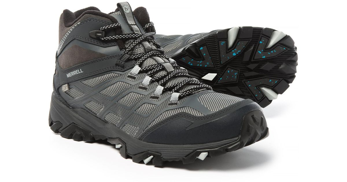 5b1a449a634 Merrell - Black Moab Fst Ice+ Thermo Snow Boots for Men - Lyst