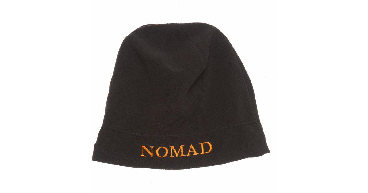 Lyst - Nomad Fleece Beanie (for Men) in Black for Men 362a11d1843d