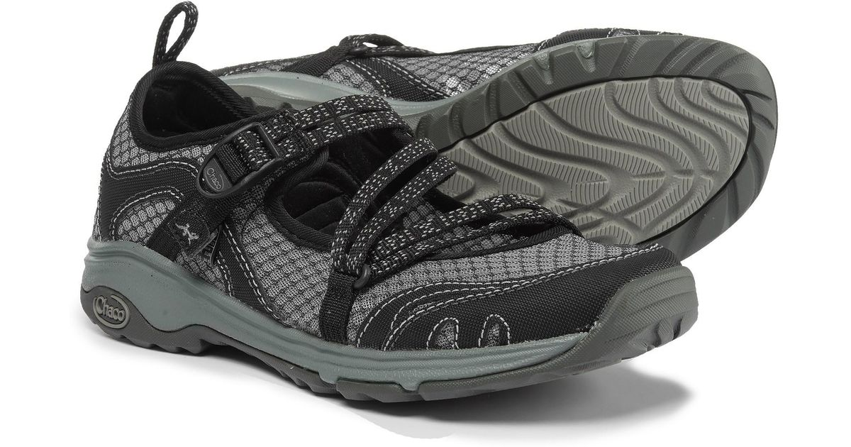426cb354640d Lyst - Chaco Outcross Evo Mary Jane Water Shoes (for Women) in Black