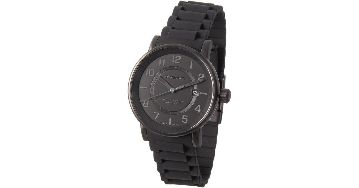 041ba87c42c Lyst - Wenger Attitude Outdoor Watch in Black for Men
