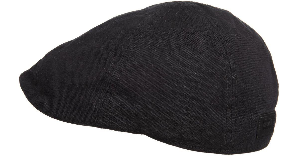 a8ad9b54f766be Levi's Oil Cloth Ivy Hat in Black for Men - Save 56% - Lyst