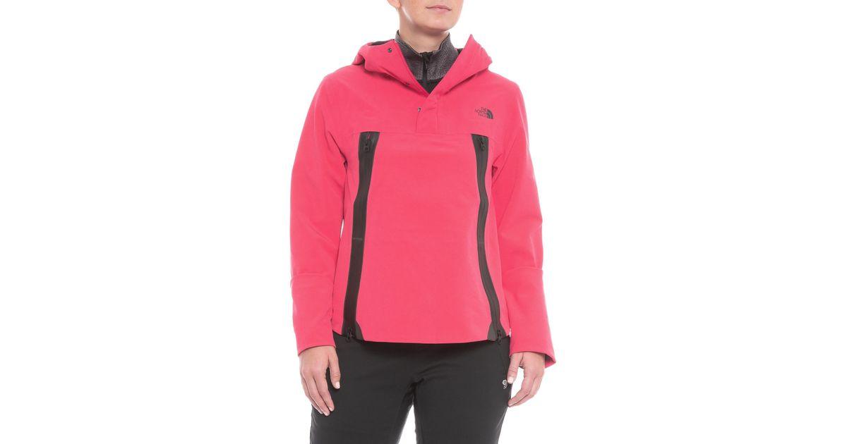 051146b93 The North Face - Pink Apex Flex Cape Gore-tex® Anorak - Lyst