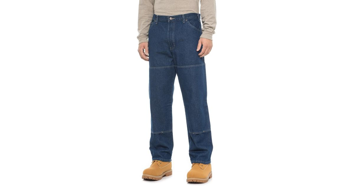 911c260b1a3 Lyst - Dickies Workhorse Double-knee Jeans in Blue for Men