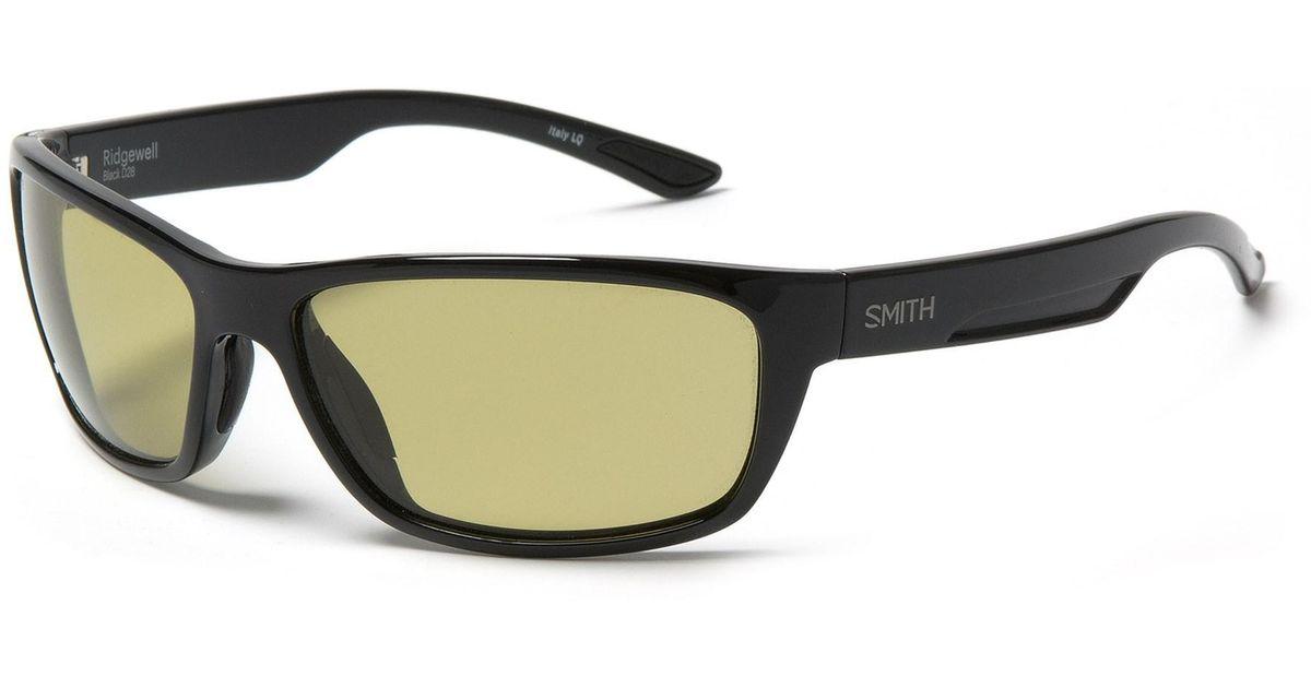 1be2eaeff6 Lyst - Smith Optics Ridgewell Sunglasses in Black
