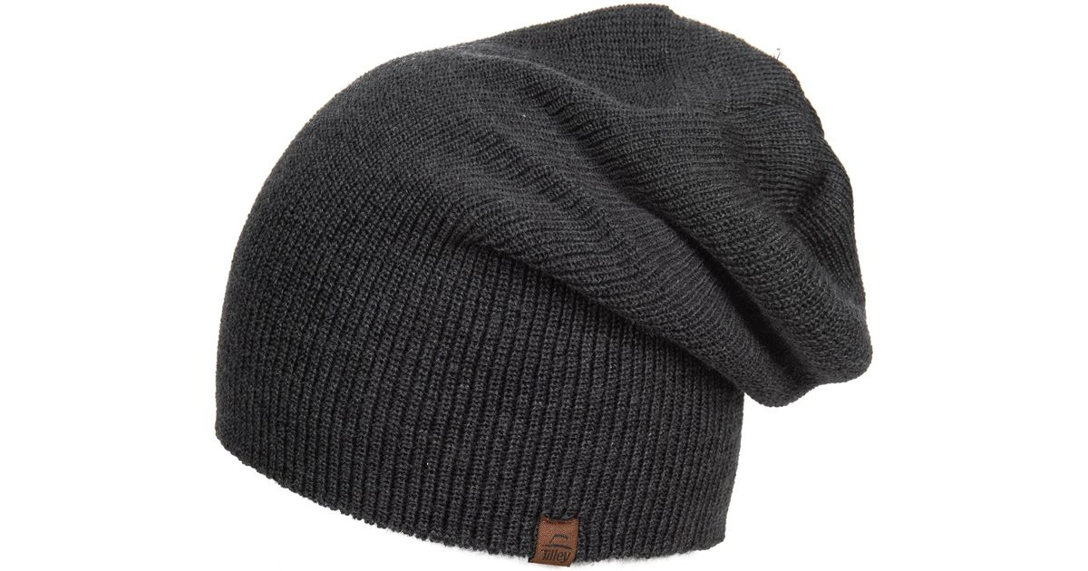 Lyst - Tilley Merino Wool Toque Hat (for Women) in Gray 412f52ebcf5