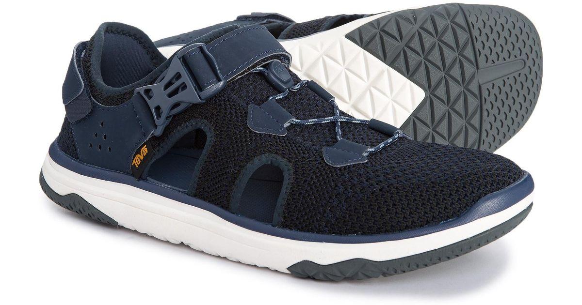 0c3a92a340c9 Lyst - Teva Terra-float Travel Knit Water Shoe (for Men) in Blue for Men